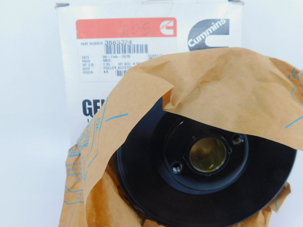 Genuine Cummins L10 ISM 3883324 Accessory Drive Pulley Brand New