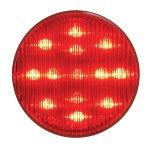 Grand General 79311 Led 2 1/2 Red Lamp