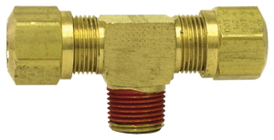 "Tectran 1372-6C Brass Male Branch Tee  3/8""Tube-3/8""Thrd"