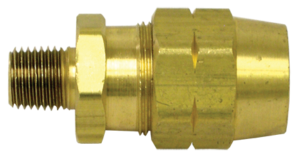 Tectran 106 Coupler, 3/8X3/8 Reusable Hose Fittings Assembly without Spring Guard - D.O.T