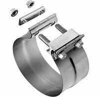 "Load image into Gallery viewer, Grand Rock Exhaust PF-6SSP CLAMP,6"" SS POLISHED"