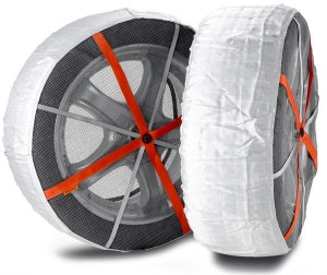 Autosock AS697 Traction Wheel and Tire Cover For Ice & Snow Easy Install