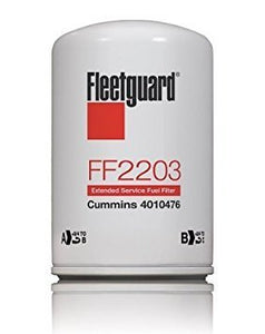 Fleetguard FF2203 Cummins ISX Fuel Filter 4010476