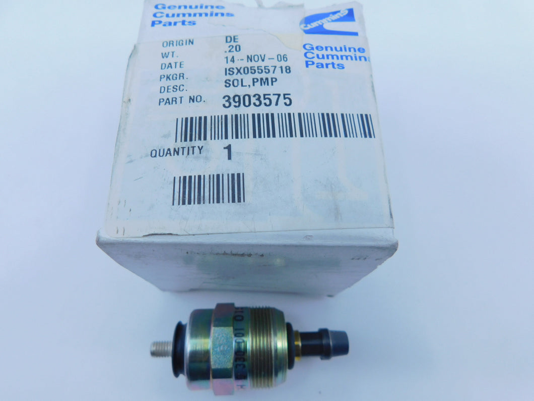 CUMMINS  3903575    Oem Nos Fuel Pump Solenoid