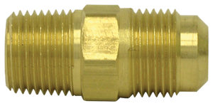 "Tectran 49-10C 90 Male Brass Elbow  5/8""Tube-3/8""Thread"