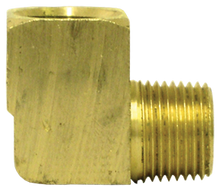 "Load image into Gallery viewer, Tectran 115-C 3/8"" 90 Deg Street Elbow Brass"