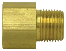 "Load image into Gallery viewer, Tectran 120-CB 3/8""M X 1/4""F Brass Adapter"