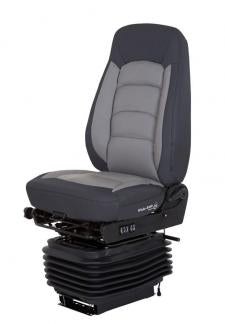 Bostrom Seating 5300001-L77 Wide Ride Black/Gray Leather Seat