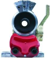 Tectran 9203 Gladhand Red Valve With Shut Off