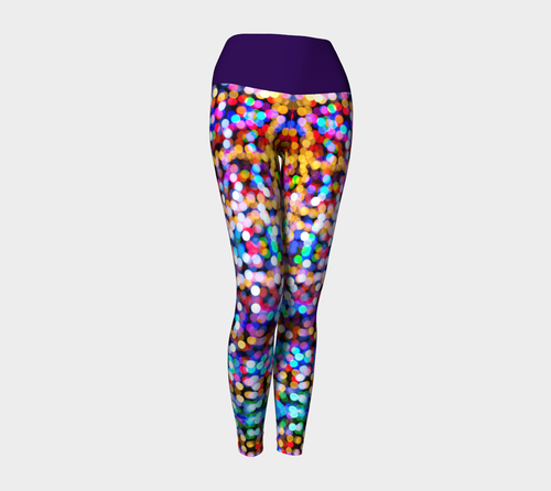 Christmas Lights Yoga Leggings - Fathom Urban Tees