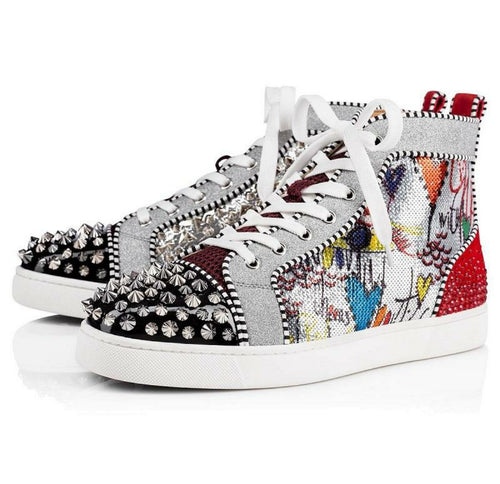 Party Love Studded Spike High Top Women's Sneaker