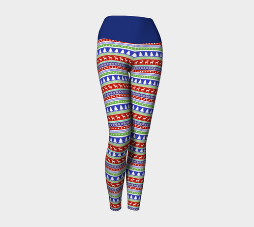 Christmas Yoga Leggings - Fathom Urban Tees