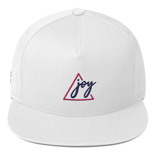 Triangle Joy Flat Bill Cap