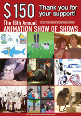 $150 Donation - 18th Annual Animation Show of Shows DVD