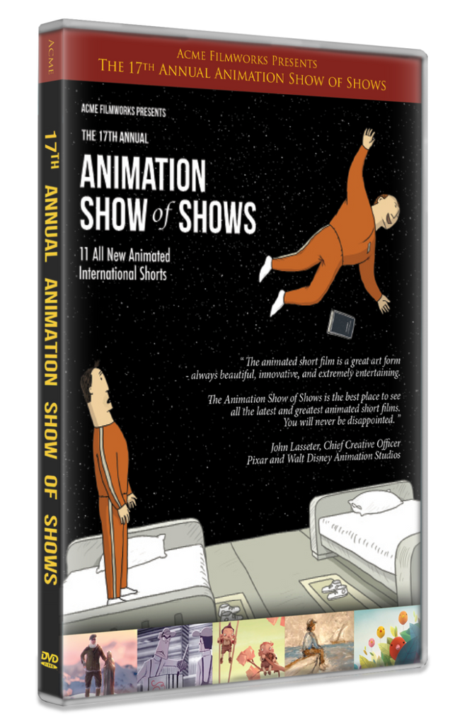 The 17th Annual Animation Show of Shows DVD For Donation