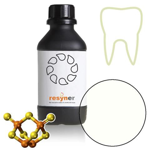 3Dresyn IJ OD Clear R for rubber mouth guards, IBTs and retainers