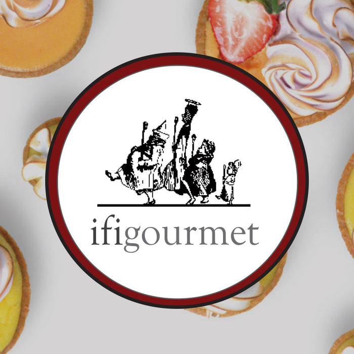 ifigourmet in house brand label logo