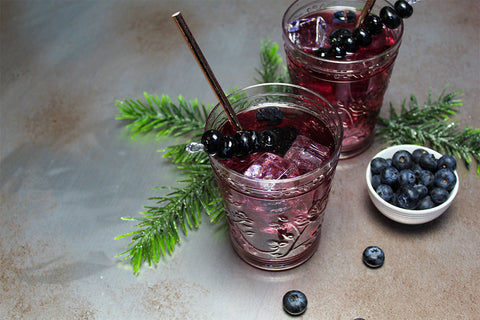 Blueberry Soda recipe