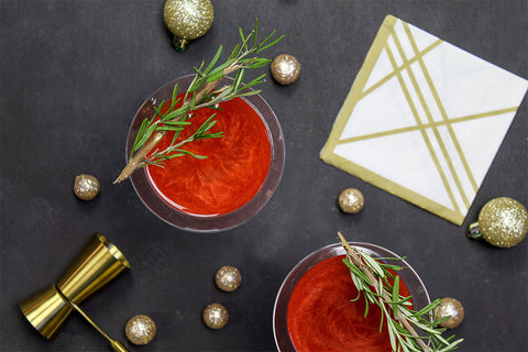 Ruby martini cocktail recipe