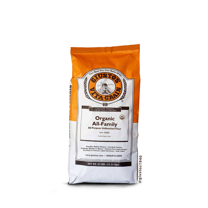 Organic Unbleached All Purpose Flour