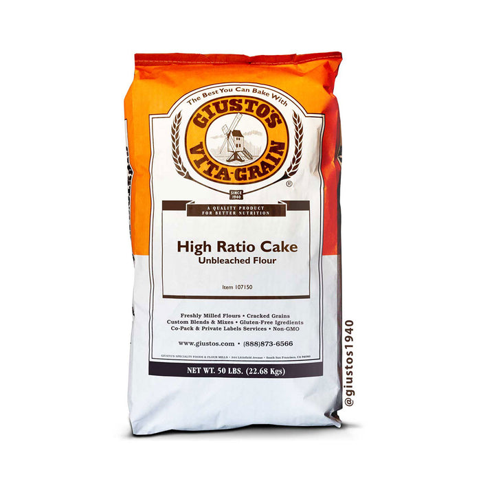 Unbleached High Ratio Cake Flour