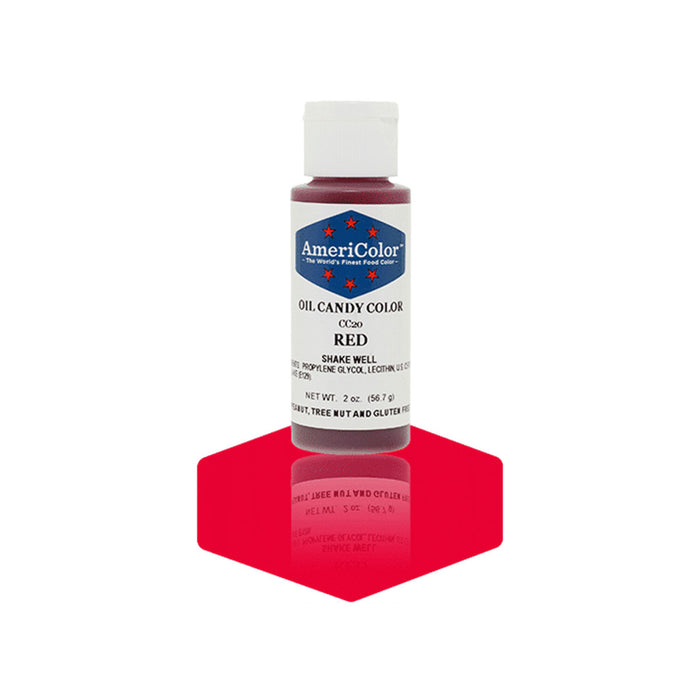 Oil Candy Color - Red (2 oz)