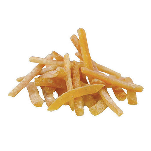 Candied Orange Peel Strips with Dextrose out of packaging