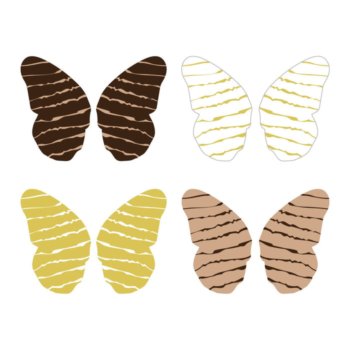 Butterfly Wing Assortment, Natural