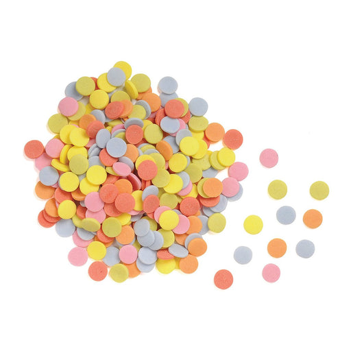 Confetti-Assorted Colors out of packaging
