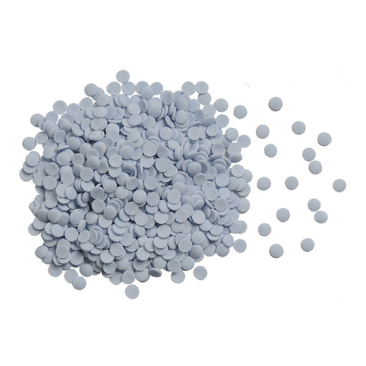 Confetti-Blue out of packaging 4mm