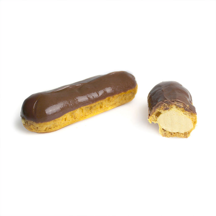 Frozen Milk Chocolate Peanut Butter Eclair