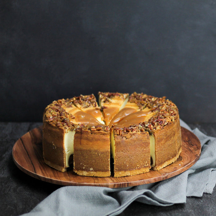 "10"" Caramel Fudge Colossal Cheesecake"