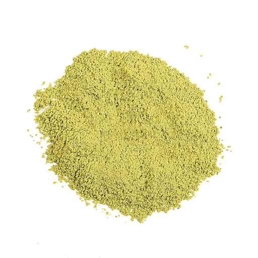 Dry Colorant-Green in pile out of packaging purcolour