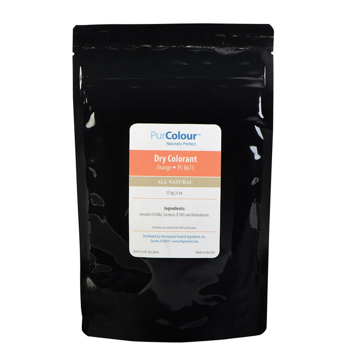 Dry Colorant-Orange in bag packaging purcolour