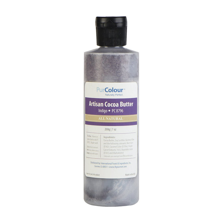 Cocoa Butter-Indigo bottle purcolour