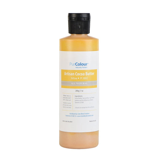 Cocoa Butter-Yellow bottle purcolour