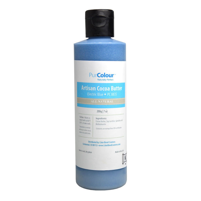 Cocoa Butter- Electric Blue bottle purcolour