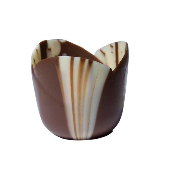 Petit Four Tulip Cup - Marbled