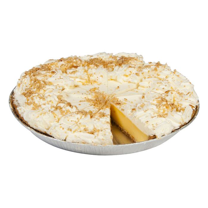 "12"" Key Lime Pie missing single slice"