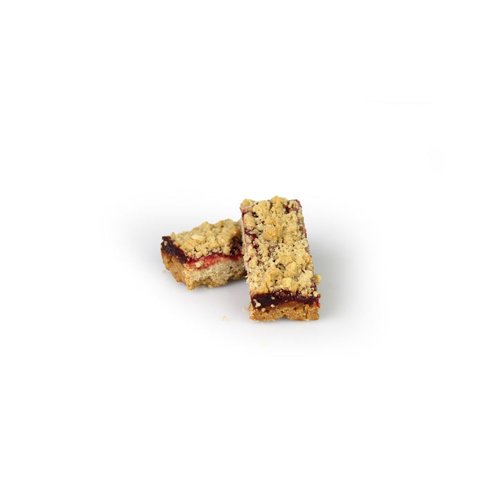 Double Cut Raspberry Shortbread Bars