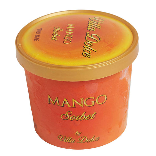 Mango Sorbet Grab and Go Cups