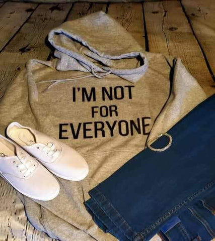 Bauers Boutique - I am not for everyone tshirt design