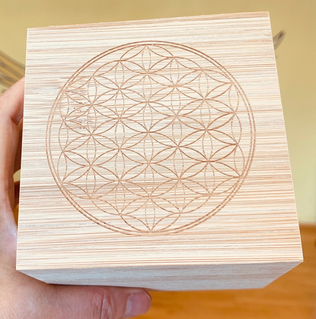 Flower of life, Bamboo box