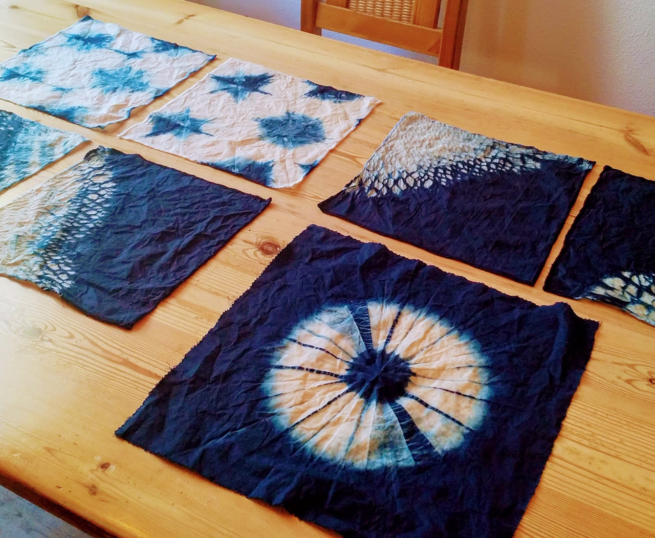 aizome tie dye, DIY beeswax wrap or kid`s Workshops