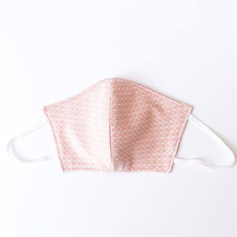 Peach Parfait - Child/XSmall Cotton Mask