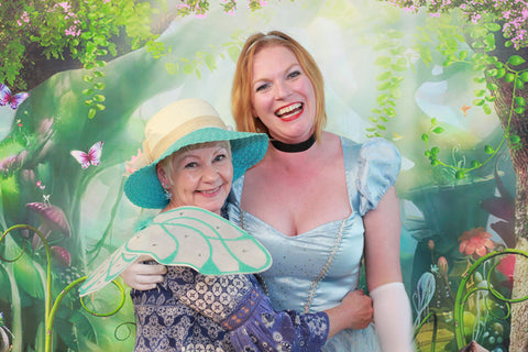 Spring Into Downtown photo with Cinderella