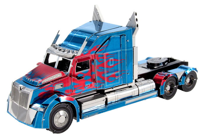 Metal Earth Transformers Optimus Prime Western Star 5700 Truck ICX203