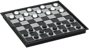 Game 3-in-1 Checkers Chess and Backgammon