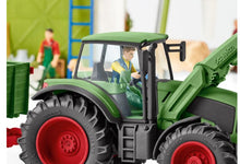 Load image into Gallery viewer, Schleich Tractor with Trailer 42379