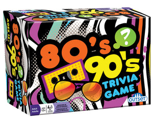 Game 80's 90's Trivia